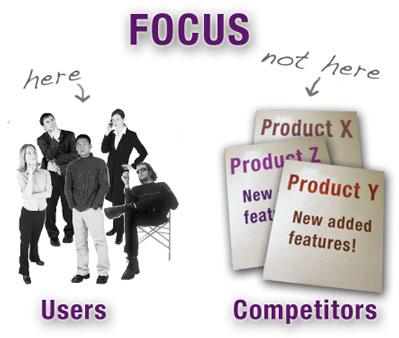 Focusonusersnotcompetitors