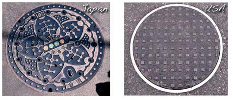 Manholecoversus_japan