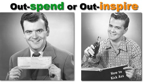 Outspendoroutinspire